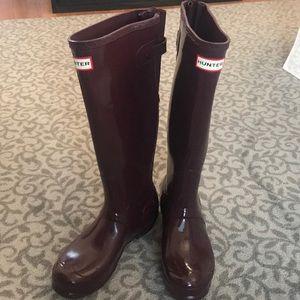 Hunter Rain Boots - Extended Calf, Women's Size 7